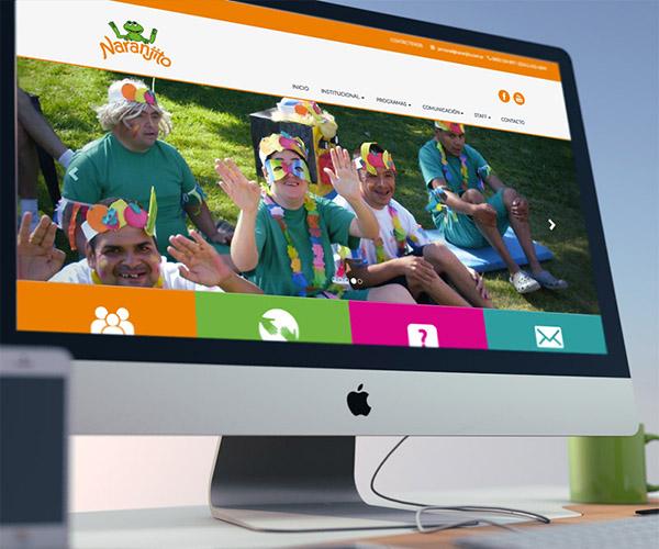 diseño web - naranjito