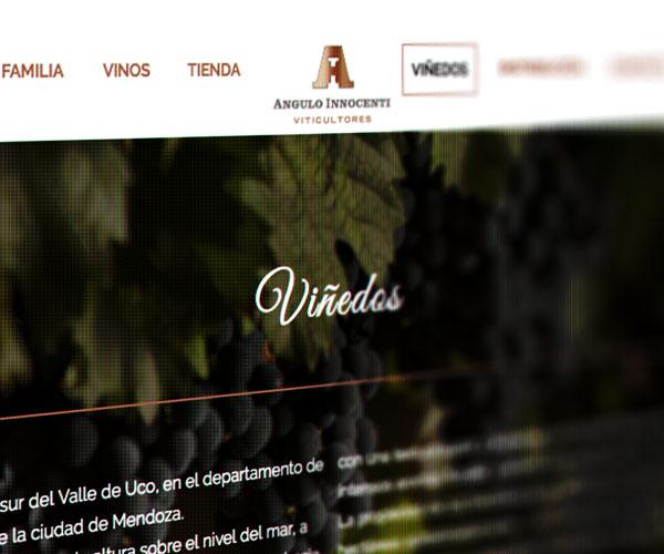 diseño web angulo innocenti